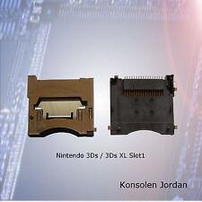Nintendo  3Ds XL Kartenslot, Slot1,  Reparatur oder Austausch