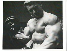 LARRY SCOTT Mr Olympia Monster Arm Bodybuilding  Muscle Photo B&W