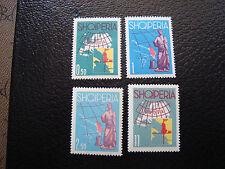 ALBANIE - timbre - Yvert et Tellier n° 589 a 592 n** (A3) stamp albania
