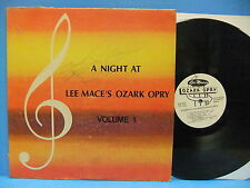 Lee Mace LP LOT A Night At Ozark Opry & On Stage Autographed Lake Of Ozarks MO