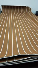 Marine EVA Foam Sheet fish boat&surfboard &yacht decking teak Flooring (Brown)