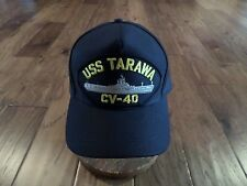 Uss Tarawa Cv-40 U.S Navy Ship Hat U.S Military Official Ball Cap U.S.A Made