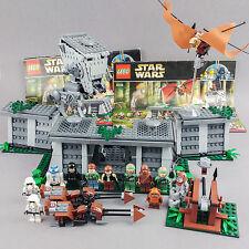 Lego 8038 STAR WARS battle of endor 100% complete set minifigures EWOK AT-ST