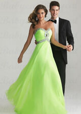Abendkleid Partykleid Kleid Ballkleid Brautjungfernkleid Hellgrün A1218HG Gr. 36