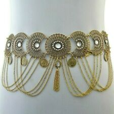 Body Chain Bikini Jewelry Bohemian New Women Coin Tassel Waist Chain Belly Dance