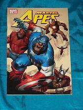 MARVEL APES # 0, 2008, Art Adams Cover, Spider-Man Reprints, FINE - VERY FINE