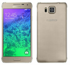 "Samsung galaxy alpha sm-g850f 4.7"" International 32gb free mobile phone gold"