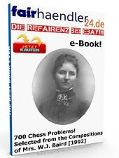 English eBook 700 Chess problème de Mme. J.W. Baird 700 échecs problèmes wow MRR