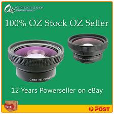 Raynox DCR6600PRO Wide Angle 52mm Lens SonyAlpha A6000 A5000 A5100 A3000 3500