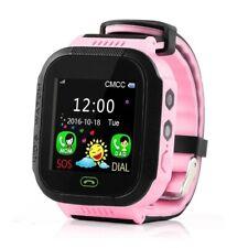 Niños Smartwatch Anti-perdido GPS SOS reloj inteligente táctil de Android iOS