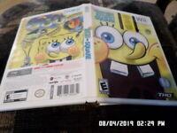 SpongeBob's Truth Or Square = COMPLETE w/ Case & Manual (Nintendo Wii)