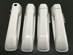 2012-2018 Dodge Ram Front and Rear 4 Door Handle Bright White(PW7)
