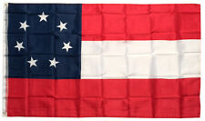 3x5 Ft Polyester 7 Stars Csa First National American 1st Southern States Flag b