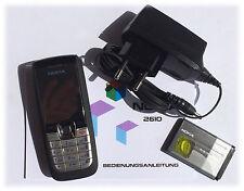Nokia 2610 - Schwarz (Ohne Simlock) Handy
