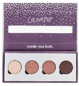 Colourpop Revelry Pressed Powder Shadow Collection 4 x 1.4g - Boxed