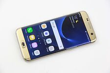 Samsung Galaxy S7 edge - 32GB - Gold (Unlocked) AVERAGE CONDITION, GRADE C 739