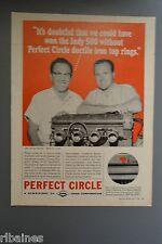 R&L Ex-Mag Advert: Perfect Circle Ductile Iron Top Rings, Dana Corporation