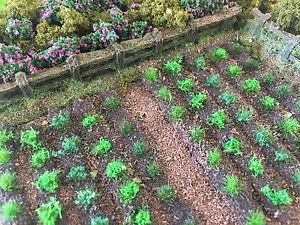 Farm Crops x10 Set 01-Model Railway Static Grass Tufts Garden Field Scenery Doll