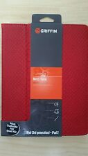 Griffin GB36129 Python Designed Moxy Folio for Apple iPad Mini - Dark Red/Gold