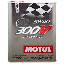 Motul aceite lubricante altas Prestasciones 300v Power 5w40 2L