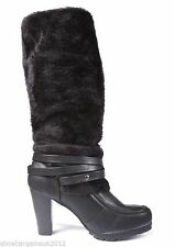 Women's Textured Knee High Pull on Boots