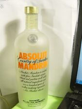 Empty DUMMY Absolut Mandrin Vodka Bottle 1 L