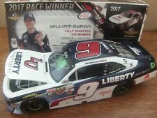 Autographed William Byron 2017 Liberty University INDY WIN 1/24 NASCAR