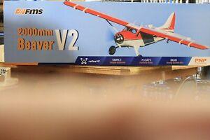 FMS Beaver 2000mm V2 Plug N Play in stock ships right away Brand new