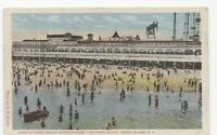 Postcard Coney's Finest Beach Steeplechase + Funny Place Coney Island NY 1931