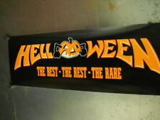 HELLOWEEN Record Biz Rare PROMO POSTER Best Rest - mint condition