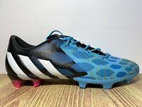 adidas Predator Instinct FG Soccer Cleats Blue/White/Black M17642 Men Sz 9 NEW