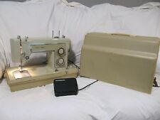 Sears Kenmore Model 5186 -Heavy Duty Vintage Sewing Machine WORKS Comes W/ Case