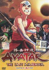 Avatar The Last Airbender Season 1-3 | TV Series | DVD | Eng Audio