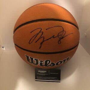 Michael jordan autographed signed Wilson Basketball Wcoa Bulls