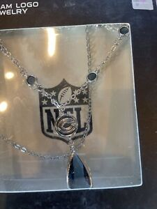 Chicago Bears Football Team Logo NFL Necklace - Team Logo Jewelry - New In Box