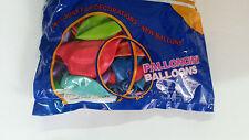 100 PALLONCINI 19cm Diametro COLORI MISTI pallone palloncino