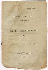 LETTRES de CACHET en LANGUEDOC de LOUIS-J THOMAS 1924 Le PETIT VENT du NORD 1737