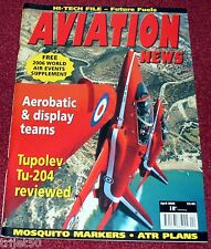 Aviation News 2006 April Aerobatic Teams,Mosquito,Tupolev Tu204