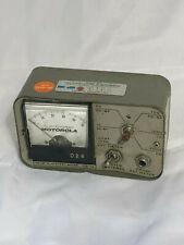 Motorola Tek 7a Dcrf Alignment Meter Radio Test Unit As Is