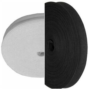 5 meters  Black and white 25mm 1 Inch 5 Meters Cotton Bias Binding tape