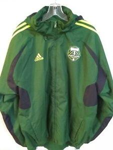 RARE - EUC Adidas MLS Portland Timbers Stadium Jackets Padded O25981 U.S XL $120