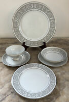 6-piece Place Setting Imperial China By W. Dalton Fine China Whitney # 5671, EUC