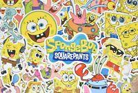 Spongebob Squarepants Squidward Painting Bumper Bottle Phone Decal Decor Sticker