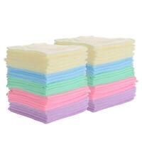 Microfiber Cleaning Cloth Set of100 Towel Rag Car Polishing Detailing No-Scratch