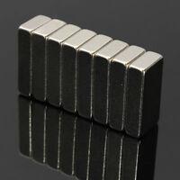 10/25/50  20x10x5mm Super Strong Block Fridge Magnets Rare Earth Neodymium N52