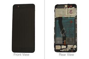 Genuine Huawei P10 Black LCD Screen & Digitizer with Battery 3200mAH - 02351DGP