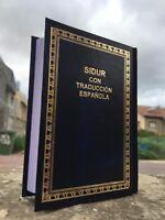 Sidur Español Spanish-Hebrew Española Siddur Jewish Pray Book Judaika Synagogue