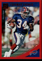 2018 DONRUSS PRESS PROOF RED #32 THURMAN THOMAS BUFFALO BILLS FOOTBALL