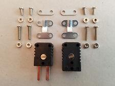 B+B Miniatur-Thermoelementsteckverbinder 0.5 mm² mit Zugentlastung Typ J - NEU