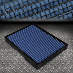 FOR 93-11 VW JETTA/GOLF/BEETLE AUDI S3/TT DROP-IN PANEL CABIN AIR FILTER BLUE
